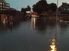 Wateroverlast Koeterstraat Herentals